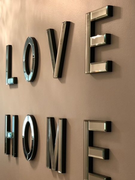 LOVE HOME SPEGEL dekoration