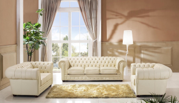 Chesterfield beige 3+2+1